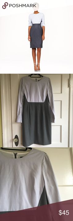 JCrew Clara dress Beautiful and super chic wear to work dress in  excellent used condition and freshly dry cleaned. Purchased on posh but unfortunately wasn't a fit for me. J. Crew Dresses