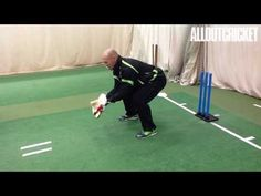 Paul Nixon: Wicketkeeping Drills | All Out Cricket Performance Coaching