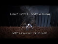 Cinema 4D Particles Masterclass - YouTube