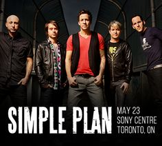 Win one of 400 pairs of tickets to see Simple Plan live in Toronto