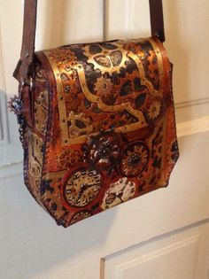 Steampunk Tendencies   Steampunk Hand Bag by Amy Lamphere