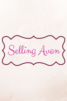 Things to sell like avon