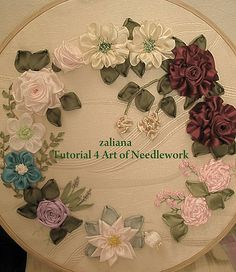 ribbon embroidery - my tutorial | zaliana | Flickr