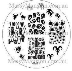 Messy Mansion - Image Plate MM11, $7.00 (http://www.messymansion.com.au/products/image-plate-mm11.html)