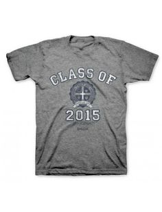 Small - 2X Christian Graphic Unisex & Teens Class of 2015 T-Shirt - JTbliss