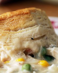 Chicken And Biscuits Bake