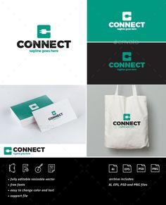 Connect Logo • Letter C