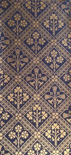 Edinburgh | Pugin design wallpaper http://tm-interiors.co.uk/wallpaper-brands/watts-triad-w0057-20 http://www.alexanderinteriorsltd.co.uk/category-1788/WattsofwestminsterEdinburgh.html