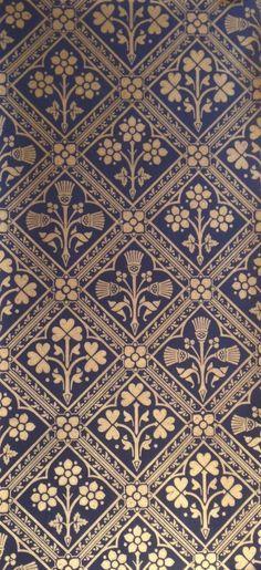 Edinburgh | Pugin design wallpaper http://tm-interiors.co.uk/wallpaper-brands/watts-triad-w0057-20 http://www.alexanderinteriorsltd.co.uk/category-1788/WattsofwestminsterEdinburgh.html