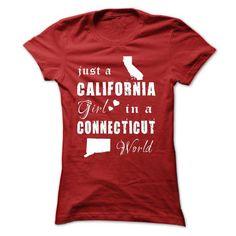 CALIFORNIA GIRLS IN CONNECTICUT #shirt #clothing