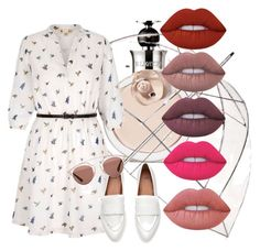 """""""Spring2016"""" by elina-bartsevich on Polyvore featuring мода, Valentino, Totes, Yumi, Christian Dior и Lime Crime"""