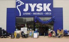 Bonjour France! Franskmændene får første gang gode tilbud fra JYSK den 10. maj 2007, da Dänisches Bettenlager åbner den første butik i Frankrig uden for Paris.