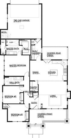 Townhome Plans Rear Garage Html on