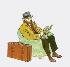 Max Fridman lit son journal Giardino Anton, Character Concept, Character Design, Illustrations, Illustration Art, Ligne Claire, Panel Art, Comic Artist, Cartoon Drawings