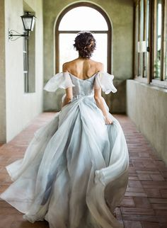 11 Dreamy Dusty Blue Wedding Dresses | Inspired By This | Bloglovin'
