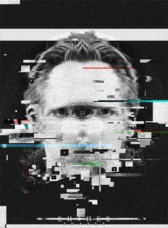 Photo glitch with shapes Cyberpunk, Collage Art, Mixed Media Collage, Pochette Cd, Plakat Design, Glitch Art, Web Design, Charles Bukowski, Vaporwave