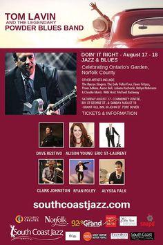 southcoastjazz Norfolk County, Blue Band, Jazz Blues, Coast, Singer, Celebrities, Movie Posters, Ideas, Celebs