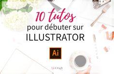 10 tutos pour débuter sur IllustratorMême s'il existe d'autres outils gratuits pour créer son logo, Illustrator reste celui qui est le plus utilisé dans le domaine du dessin vectoriel. Afin de t'aider à maîtriser la bête, je te propose une sélection de 10 tutos vidéos (7 gratuits et 3 payants).1. Les Bases et Raccourcis IndispensablesPrix … Illustrator Ai, Dp Photos, Web Design, Afin, Illustration, Branding, Architecture, Visiting Card Design, Infographic