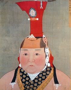 The Mad Monarchist: Consort Profile: Empress Chabi of the Yuan - What influence did Chabi have on Yuan culture in China as a woman? 귀부인 모습.몽골
