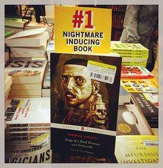 Yep, @strandbookstore, you pretty much nailed it! #thomasligotti #penguinhorror