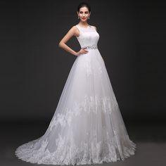 2014新款一字肩齊地新娘婚紗禮服 冬季韓版抹胸婚紗 時尚大碼拖尾