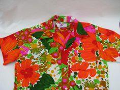 Pomare 1960's Hawaiin Shirt