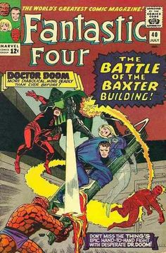 Fantastic Four # 40 by Jack Kirby & Frank Giacoia