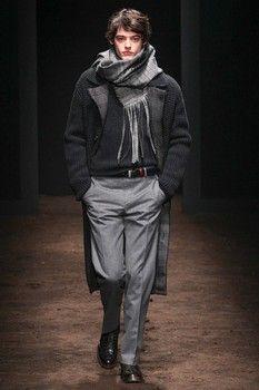 International fashion & style; Salvatore Ferragamo .. men's fall 2015..