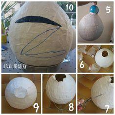 Cette année pour l'anniversaire de Tinyni (5 ans !!) j'ai eu l'idée de faire ouna Piñata !! Le thème choisi par l'intéressé étant Zorrooooooooo !