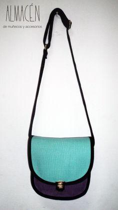Bandolera de lona - Almacén  accesorios de tela