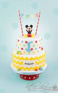 Mickey Mouse Cake  Little Cherry Cake Company