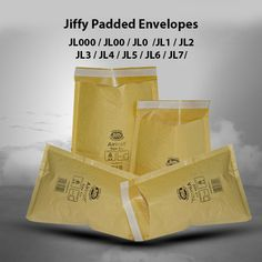 90mm x 145mm White Bubble Lined Padded Envelopes JL000 x10