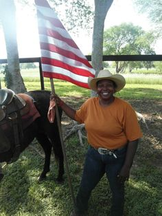 REPRESENTING OUR AMERICAN FLAG & THE BLACK COWGIRLS ALL ACROSS AMERICA...