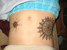 1000 Images About Belly Tattoos On Pinterest  Henna