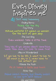 Disney Inspiration
