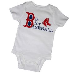 B' is for BASEBALL- BOSTON, Red Sox