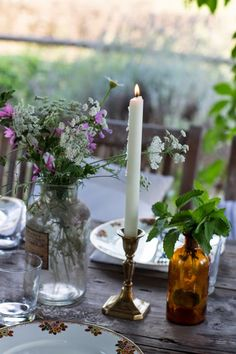 dinner in countryside | http://biancoantico.blogspot.it/