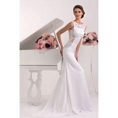 Rabiolla - luxusné svadobné šaty s odhaleným chrbátom na zips