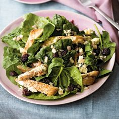 Blue Cheese-Chicken Salad #protein | health.com