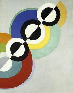 Sonia Delaunay et l'art « simultané Sonia Delaunay, Robert Delaunay, Georges Braque, Modern Art, Contemporary Art, Pompidou Paris, Georges Pompidou, Art Moderne, Art Abstrait