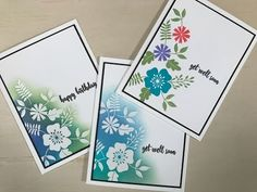 Sentimental Bouquet- Emboss Resist - stampTV