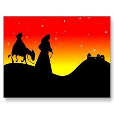 Mary and Joseph Postcards