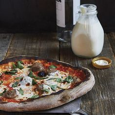 Vodka Sauce and Sausage Pizza from 'The Elements of Pizza' - Tastebook