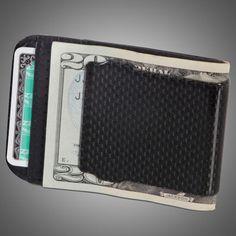 Carbon Fiber Money Clip $149.95