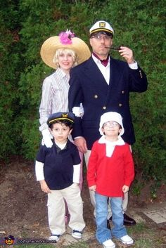 Gilligan's Island Family Costume