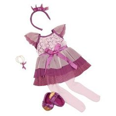 Our Generation Dlx Rosette Tutu Dress Outfit click image to zoom