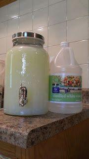 Experipins by Amanda: Homemade Liquid Laundry Detergent