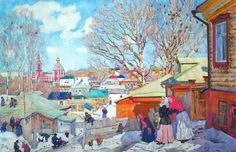 Юон Константин Федорович - -Весенний солнечный день