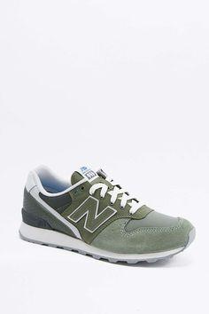 New Balance 996 Green Trainers 4e4c50c7c0720
