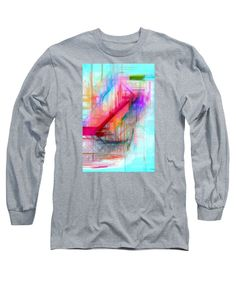 Long Sleeve T-Shirt - Abstract 9589